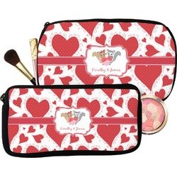 Cute Raccoon Couple Makeup / Cosmetic Bag (Personalized)