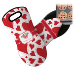 Cute Raccoon Couple Neoprene Oven Mitt (Personalized)