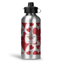 Cute Squirrel Couple Water Bottle - Aluminum - 20 oz (Personalized)