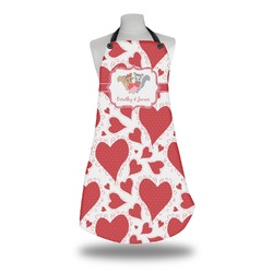 Cute Raccoon Couple Apron (Personalized)