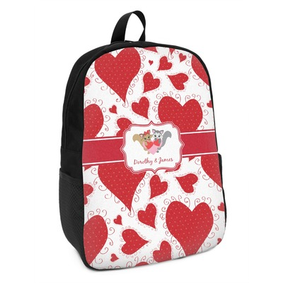 Cute Squirrel Couple Kids Backpack (Personalized)
