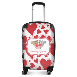 Cute Squirrel Couple Suitcase (Personalized)