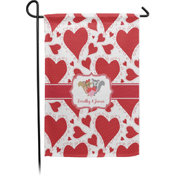 Cute Squirrel Couple Garden Flag - Single or Double Sided (Personalized)
