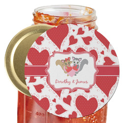 Cute Squirrel Couple Jar Opener (Personalized)