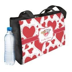 Cute Squirrel Couple Ladies Workout Bag (Personalized)