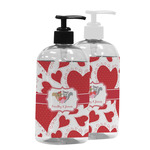 Cute Raccoon Couple Plastic Soap / Lotion Dispenser (Personalized)