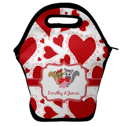 Cute Squirrel Couple Lunch Bag (Personalized)