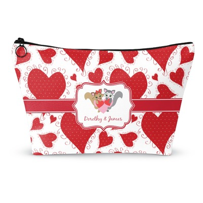 Cute Raccoon Couple Makeup Bags (Personalized)