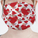 Cute Squirrel Couple Face Mask Cover (Personalized)