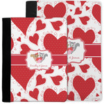 Cute Squirrel Couple Notebook Padfolio w/ Couple's Names