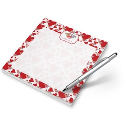 Cute Squirrel Couple Notepad (Personalized)
