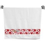 Cute Raccoon Couple Bath Towel (Personalized)
