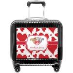 Cute Squirrel Couple Pilot / Flight Suitcase (Personalized)
