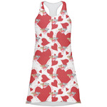 Cute Squirrel Couple Racerback Dress (Personalized)