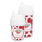 Cute Squirrel Couple Sippy Cup (Personalized)