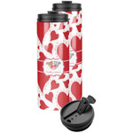 Cute Squirrel Couple Stainless Steel Skinny Tumbler (Personalized)