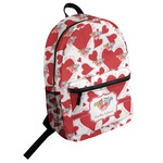 Cute Squirrel Couple Student Backpack (Personalized)