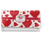 Cute Squirrel Couple Vinyl Checkbook Cover (Personalized)