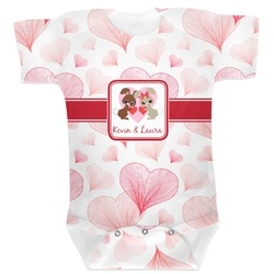 Hearts & Bunnies Baby Bodysuit (Personalized)