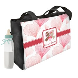 Hearts & Bunnies Diaper Bag (Personalized)