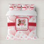 Hearts & Bunnies Duvet Covers (Personalized)