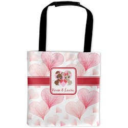 Hearts & Bunnies Auto Back Seat Organizer Bag (Personalized)