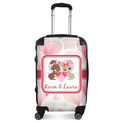 Hearts & Bunnies Suitcase (Personalized)