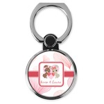 Hearts & Bunnies Cell Phone Ring Stand & Holder (Personalized)