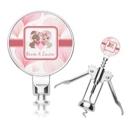 Hearts & Bunnies Corkscrew (Personalized)
