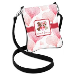 Hearts & Bunnies Cross Body Bag - 2 Sizes (Personalized)