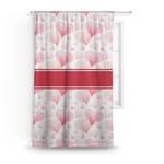 Hearts & Bunnies Curtain (Personalized)