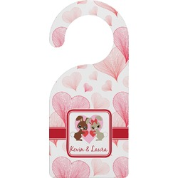 Hearts & Bunnies Door Hanger (Personalized)