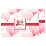Hearts & Bunnies Dish Drying Mat (Personalized)