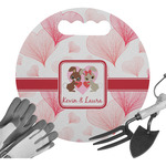 Hearts & Bunnies Gardening Knee Cushion (Personalized)