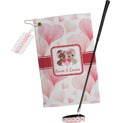 Hearts & Bunnies Golf Towel Gift Set (Personalized)