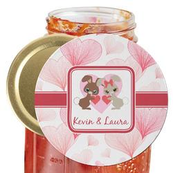 Hearts & Bunnies Jar Opener (Personalized)