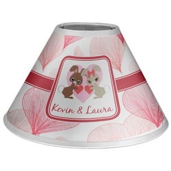 Hearts & Bunnies Coolie Lamp Shade (Personalized)