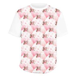 Hearts & Bunnies Men's Crew T-Shirt (Personalized)