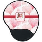 Hearts & Bunnies Mouse Pad with Wrist Support