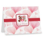 Hearts & Bunnies Note cards (Personalized)