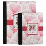 Hearts & Bunnies Padfolio Clipboard (Personalized)
