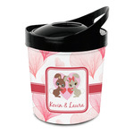 Hearts & Bunnies Plastic Ice Bucket (Personalized)