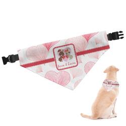 Hearts & Bunnies Dog Bandana (Personalized)
