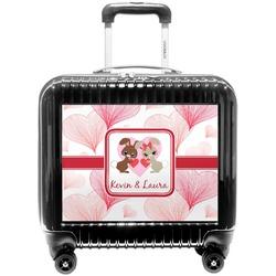 Hearts & Bunnies Pilot / Flight Suitcase (Personalized)