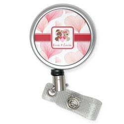 Hearts & Bunnies Retractable Badge Reel (Personalized)