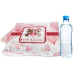 Hearts & Bunnies Sports & Fitness Towel (Personalized)