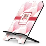 Hearts & Bunnies Stylized Tablet Stand (Personalized)