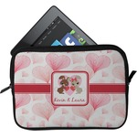 Hearts & Bunnies Tablet Case / Sleeve (Personalized)