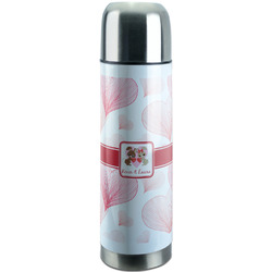 Hearts & Bunnies Stainless Steel Thermos (Personalized)