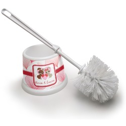 Hearts & Bunnies Toilet Brush (Personalized)